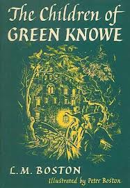 The Children of Green Knowe by Lucy M Boston cover illustration by Peter Boston Faber paperback