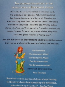 The Complete Borrowers by Mary Norton (Puffin) back cover